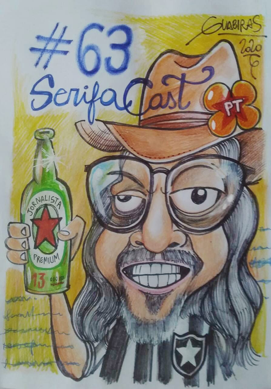 Charge produzida pelo cartunista Guabiras