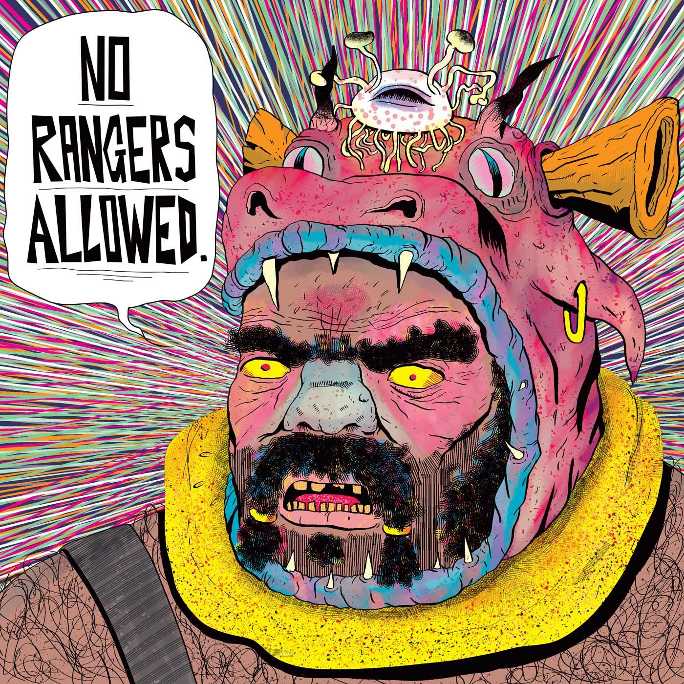 No Rangers Allowed show art
