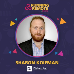 Sharon Koifman, Founder, DistantJob