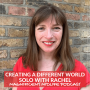 Artwork for 46 Creating a different world, solo with Rachel