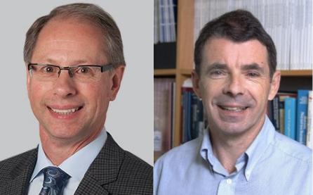 Dr. Jeffrey Cohen and Dr. Ian Duncan
