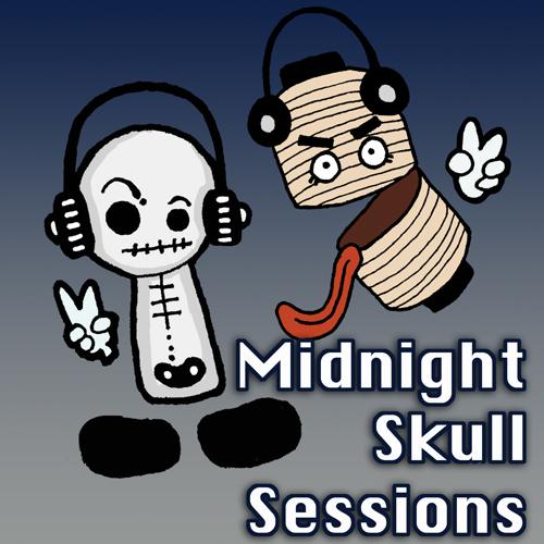 Midnight Skull Sessions show art