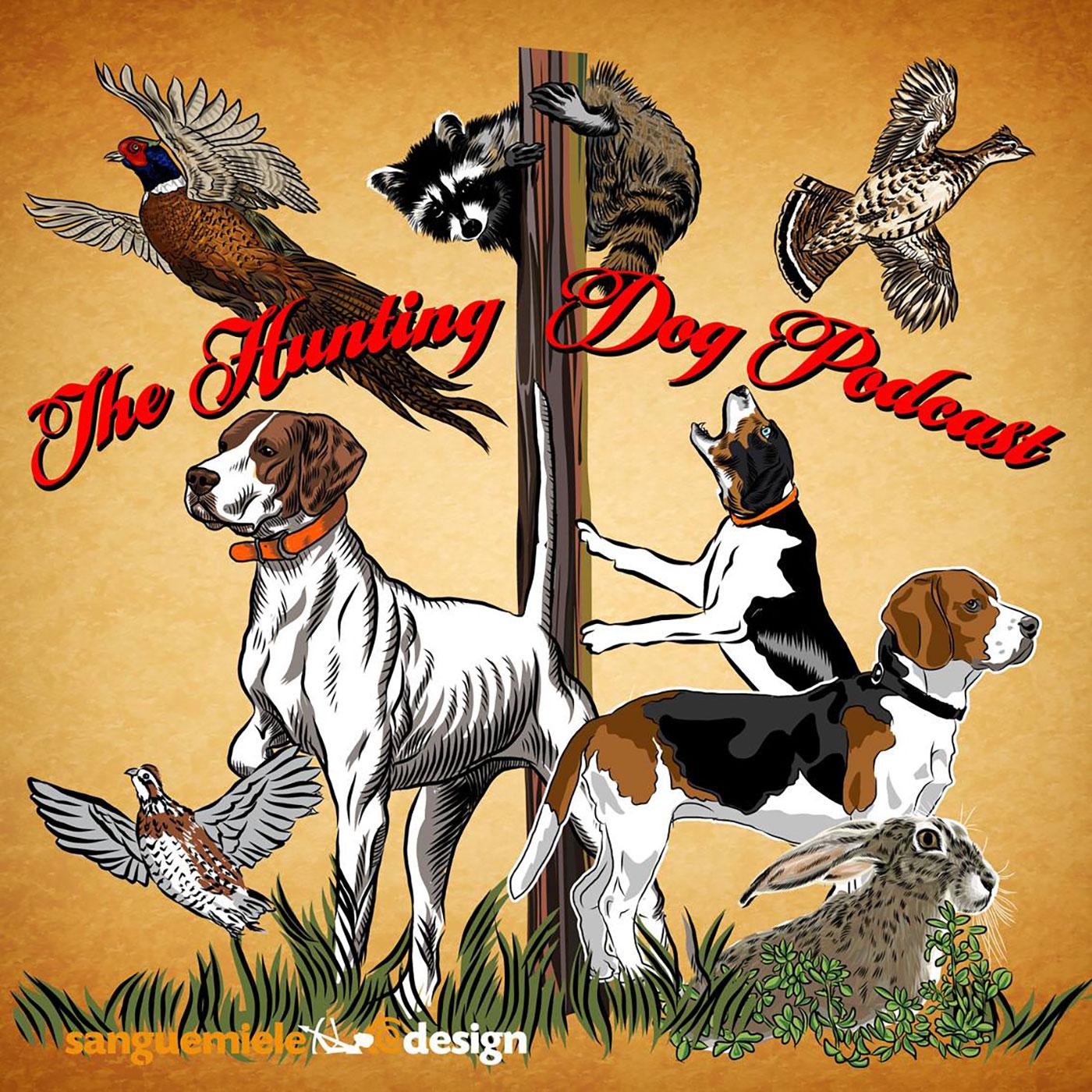 The Hunting Dog Podcast logo