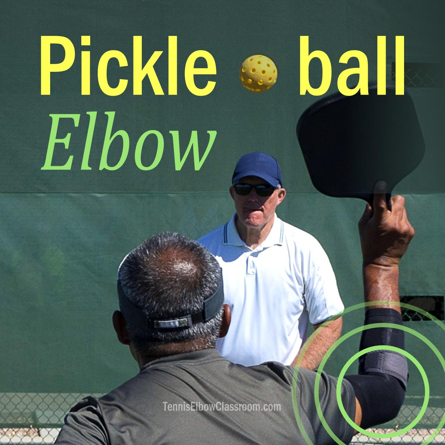 Pickleball Elbow Podcast Cover