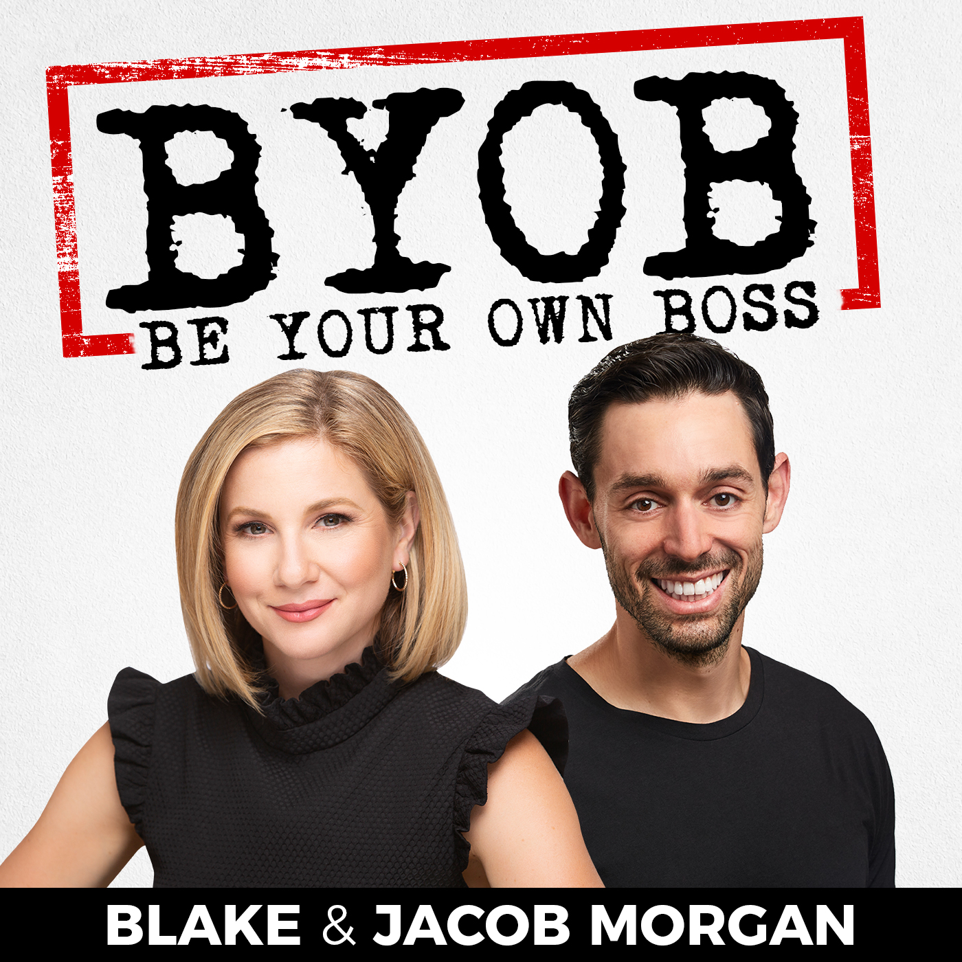 The Be Your Own Boss (BYOB) Podcast show art