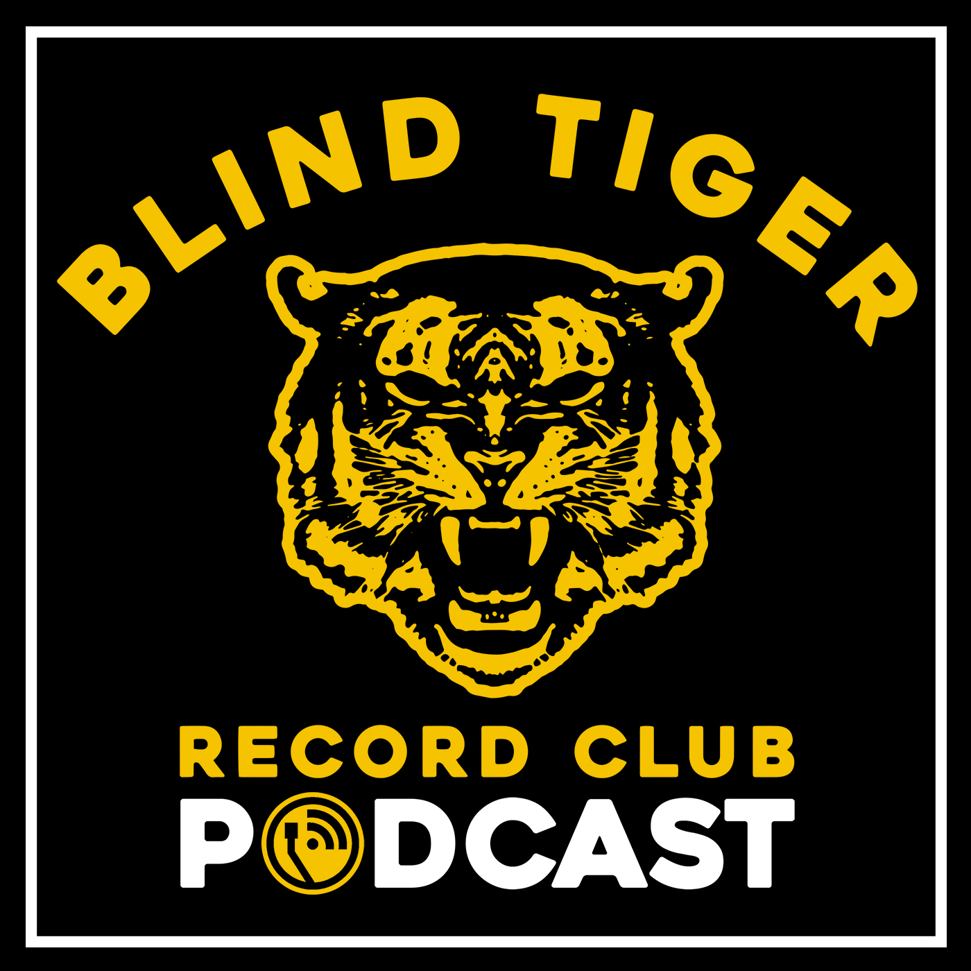 Blind Tiger Record Club Podcast show art