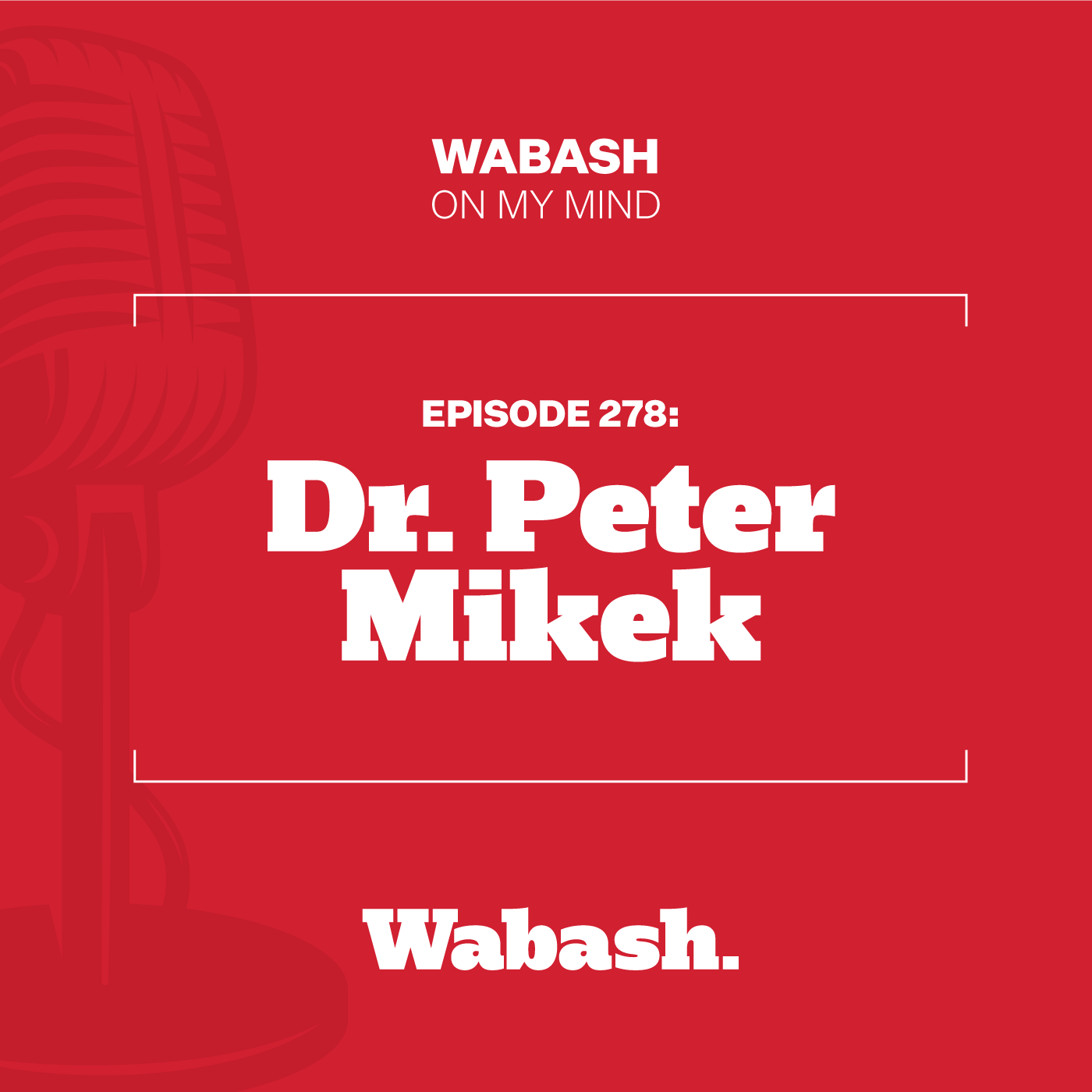 #278: Dr. Peter Mikek