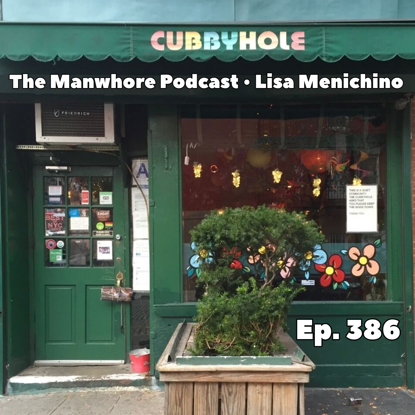 The Manwhore Podcast: A Sex-Positive Quest - Ep. 386: How Cubbyhole Keeps Lesbian PRIDE Alive with owner Lisa Menichino