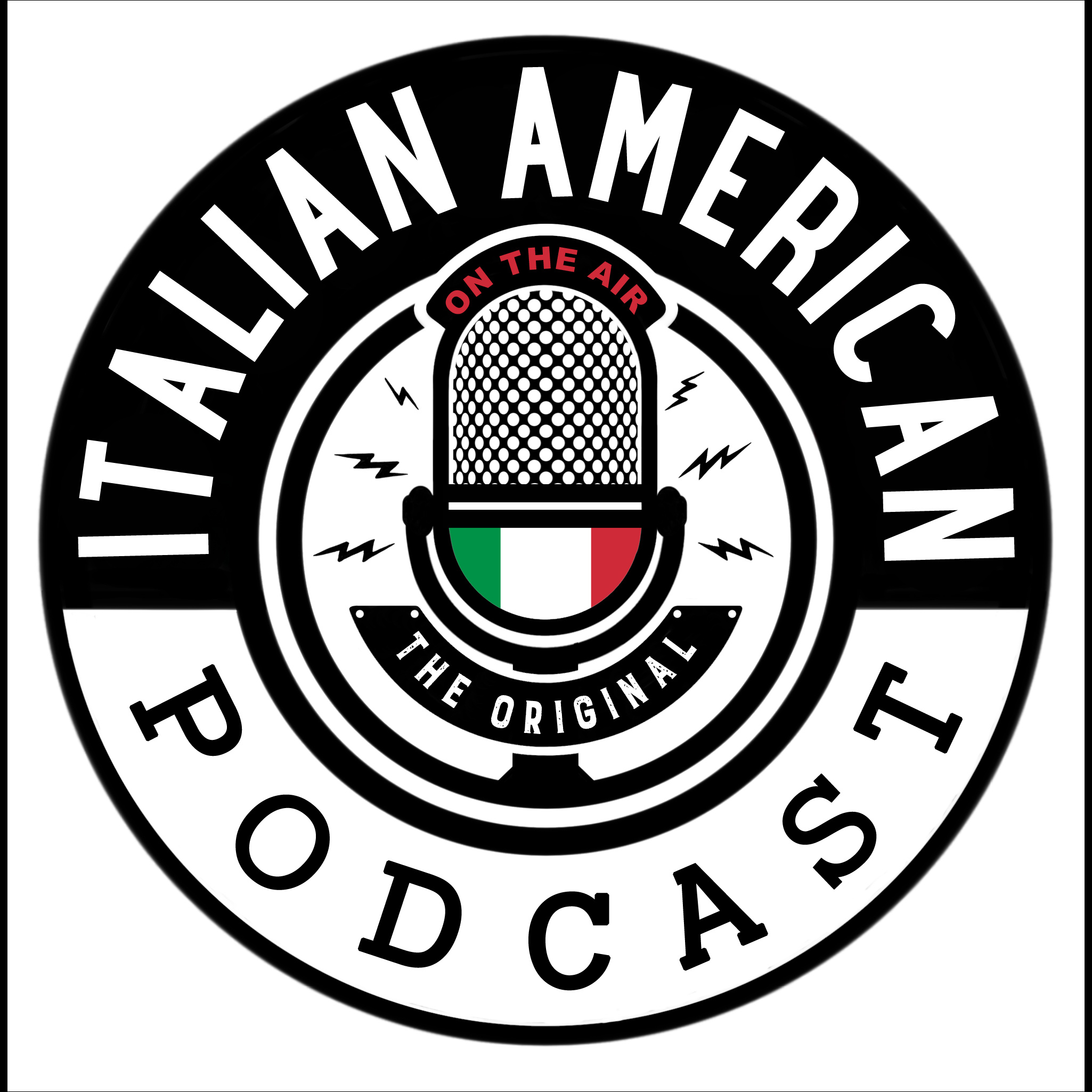 The Italian American Podcast show art