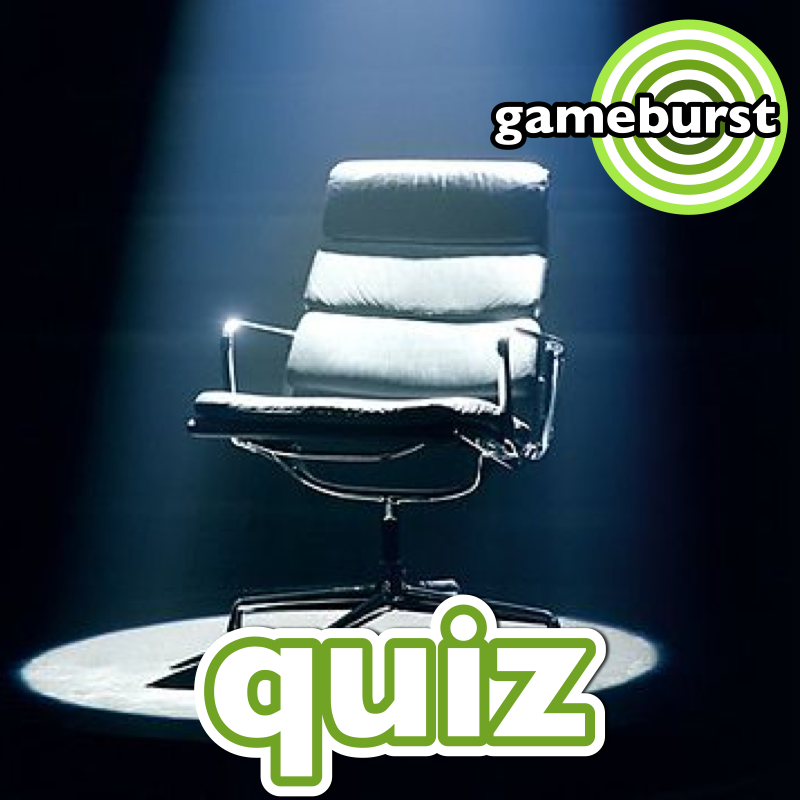 GameBurst Quiz - November 2013