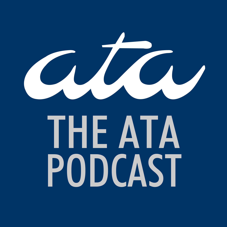 The ATA Podcast logo