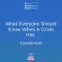 Artwork for What Everyone Should Know When A Crisis Hits - Episode #239