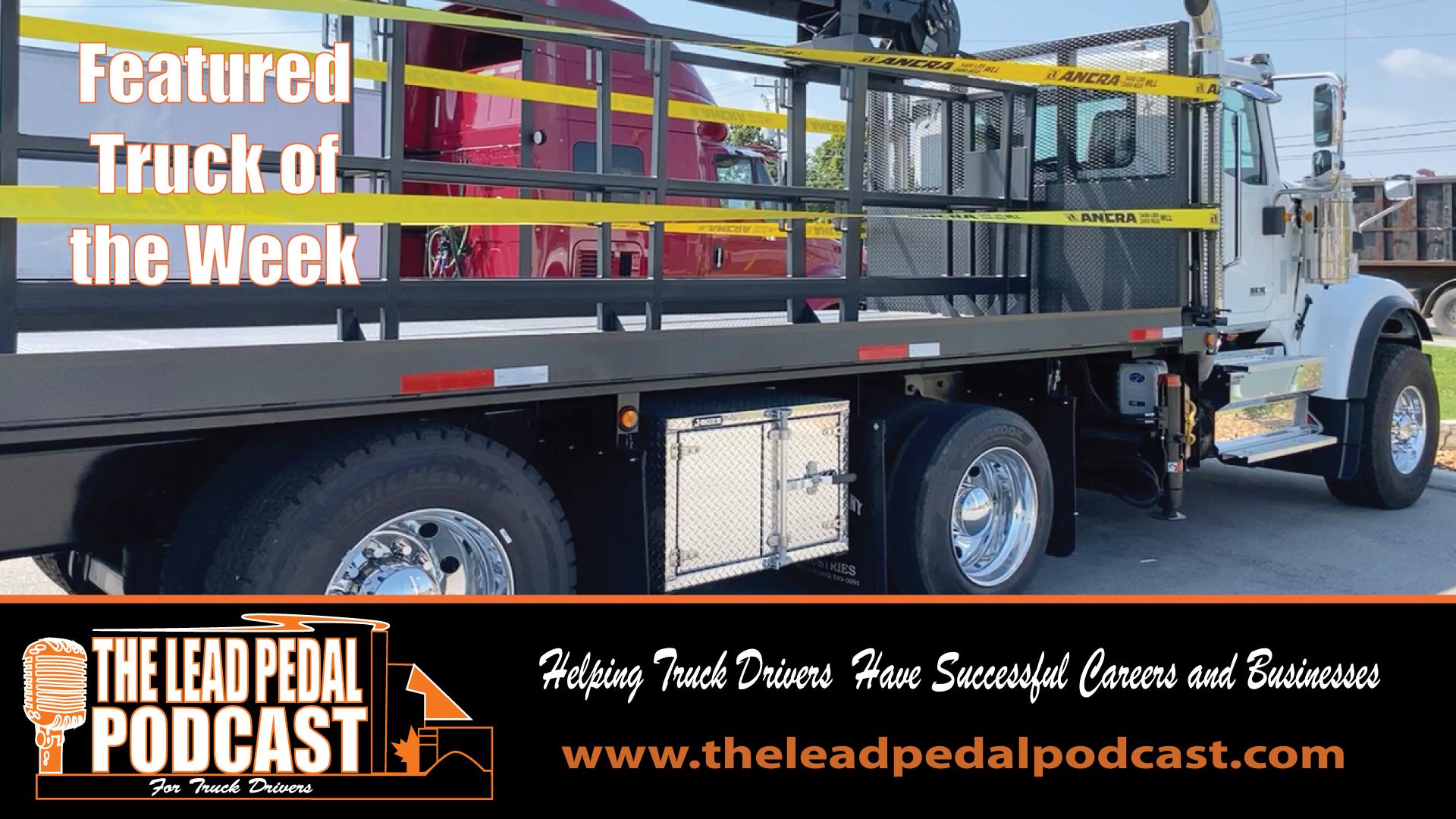 LP694 Featured Truck of the Week Carrier Crane Truck