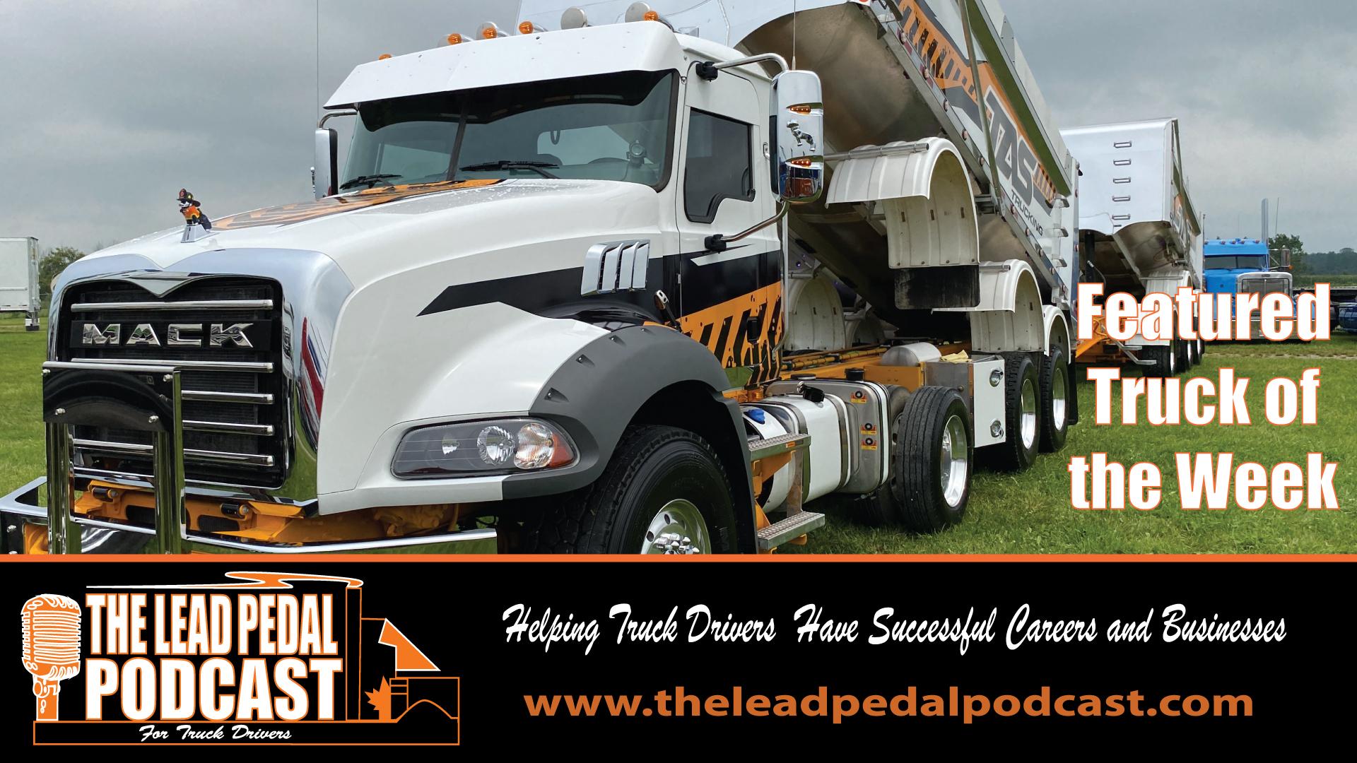 LP679 - Featured Truck of the Week - Tas Dump Combination