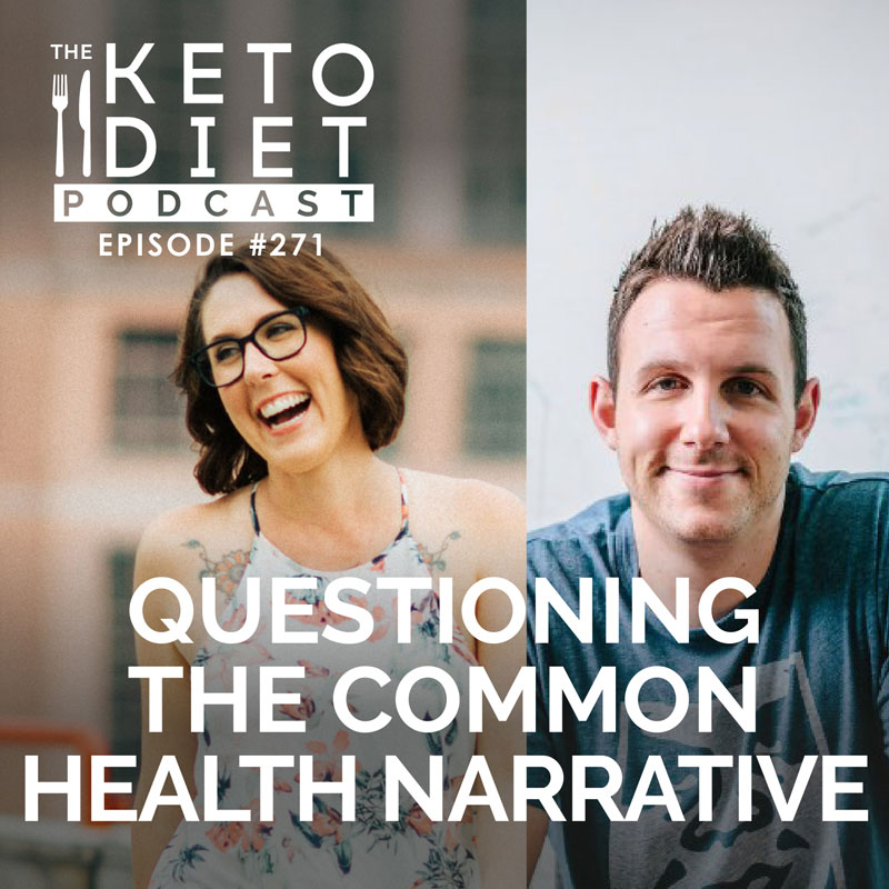 #271 Questioning the Common Health Narrative with David Hauser