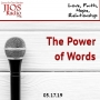 Artwork for JIOS Radio Podcast 051719-The Power of Words