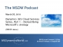 Artwork for MSDW Podcast: Cloud services series, Part 1 - Demystifying Microsoft's Dynamics 365 cloud strategy