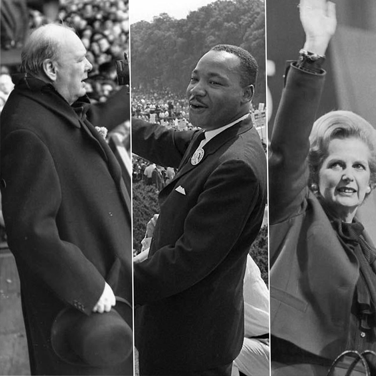 "Artwork for (S01-E21) HV Sir. Winston Churchill - ""Sinews of Peace (Iron Curtain) Speech"" - March 5, 1946"