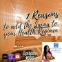 Artwork for 166: 7  Reasons to Add the Sauna to your Health Regimen | Fitness and Health
