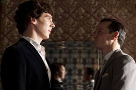 WHINECAST- Sherlock- 'The Reichenbach Fall'