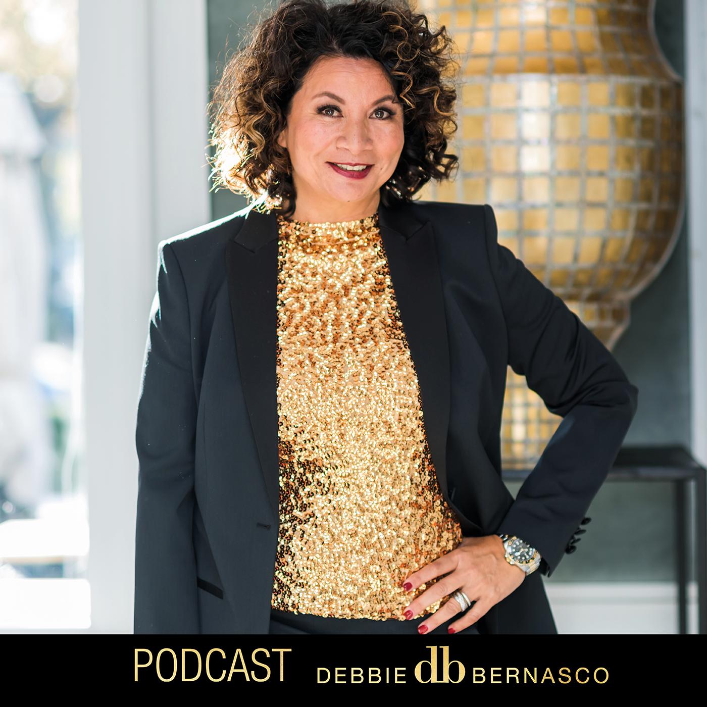 Debbie Bernasco's podcastshow |Voor Een Rijk Leven show art
