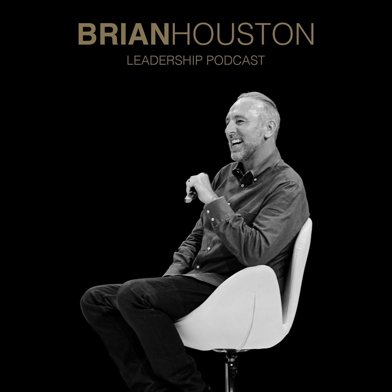 Brian Houston Leadership Podcast show art