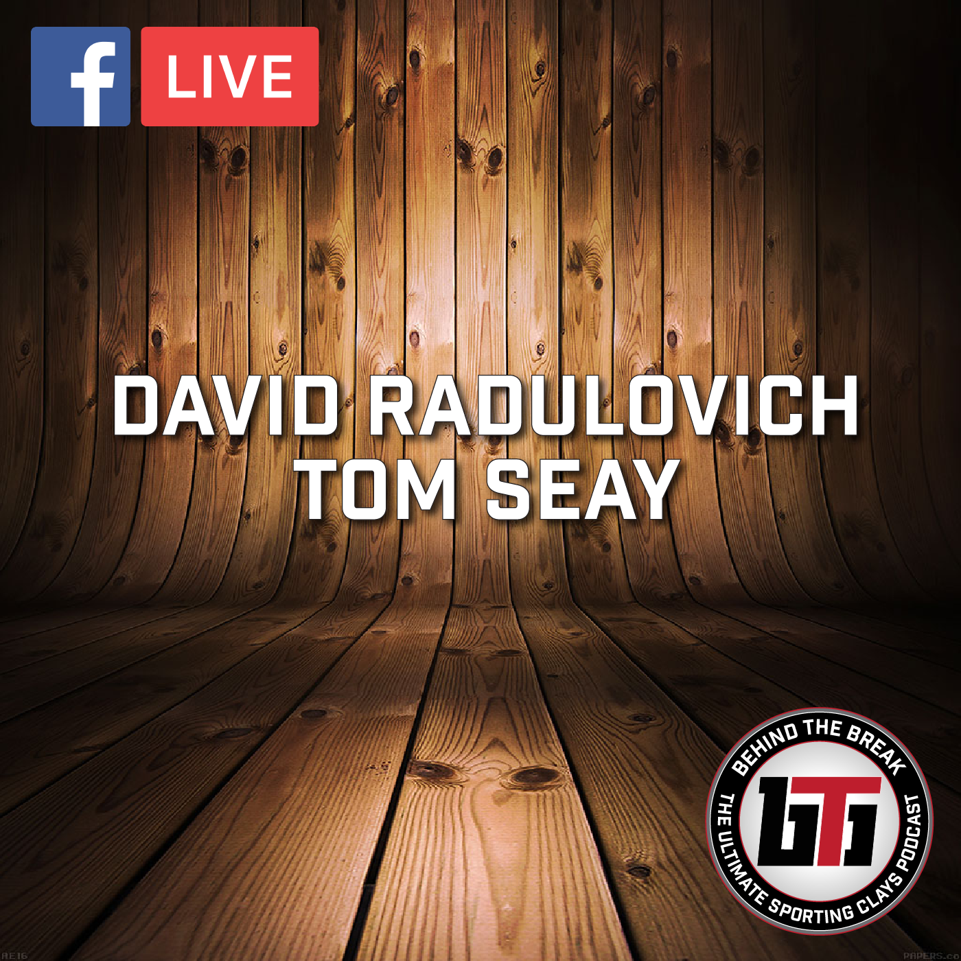 Artwork for Live Episode: David Radulovich and Tom Seay