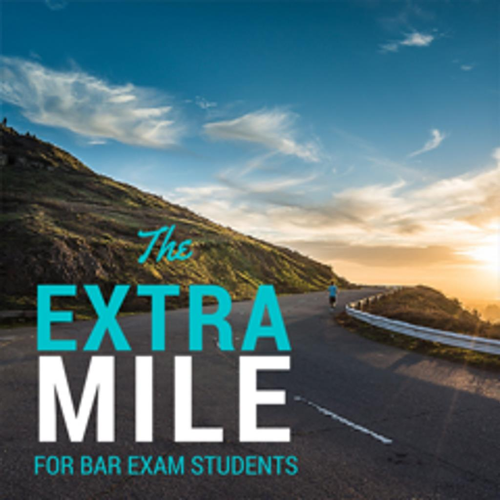 The Extra Mile Podcast for Bar Exam Takers show art