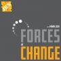 Artwork for Forces of Change | 3D Printed Lighting