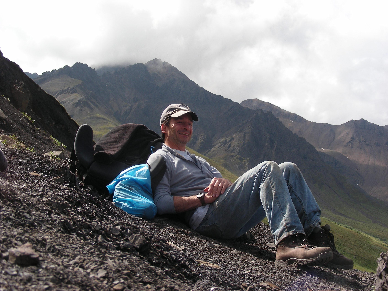 Tony on mountain