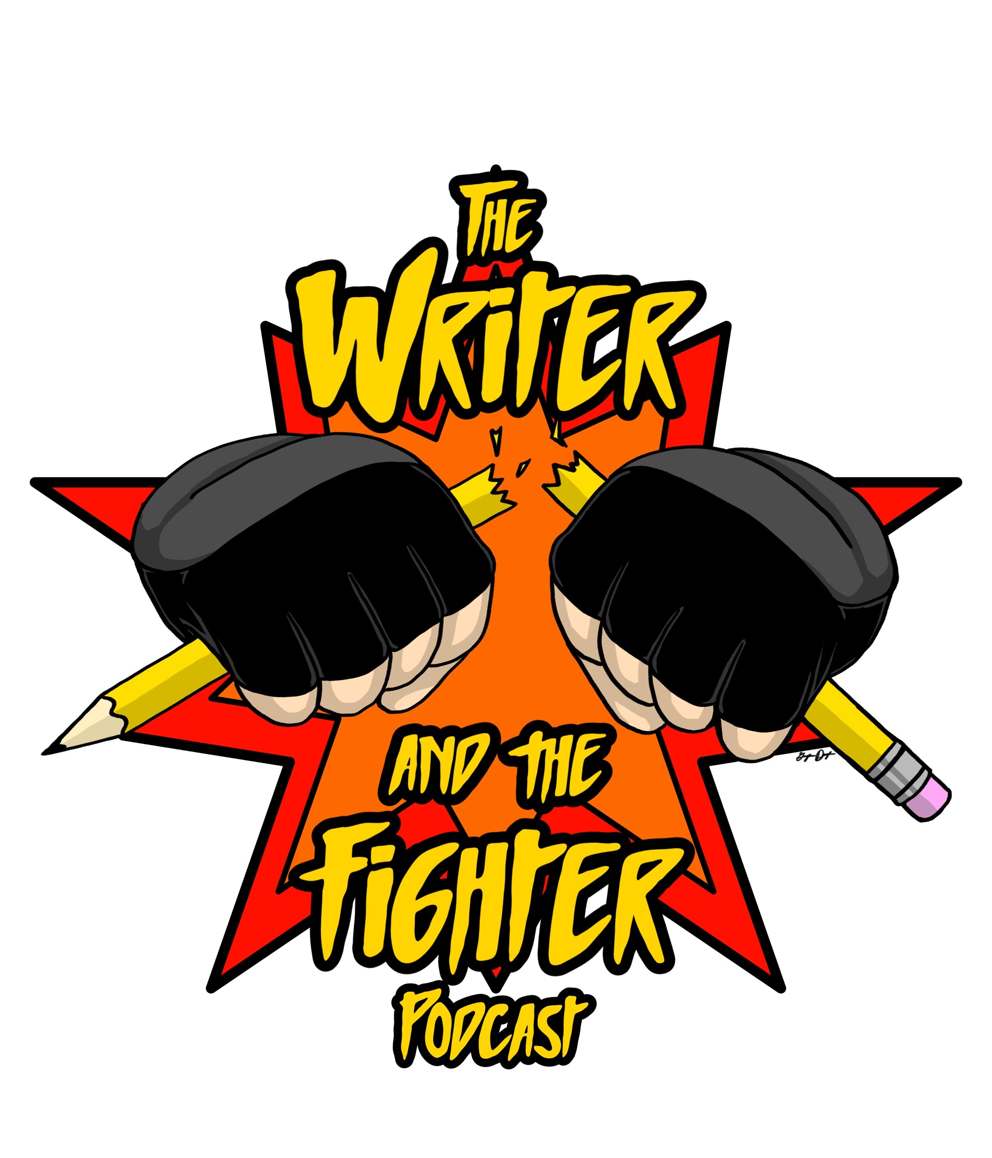 The Writer and The Fighter show art
