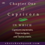 Artwork for Chapter One of Capricorn