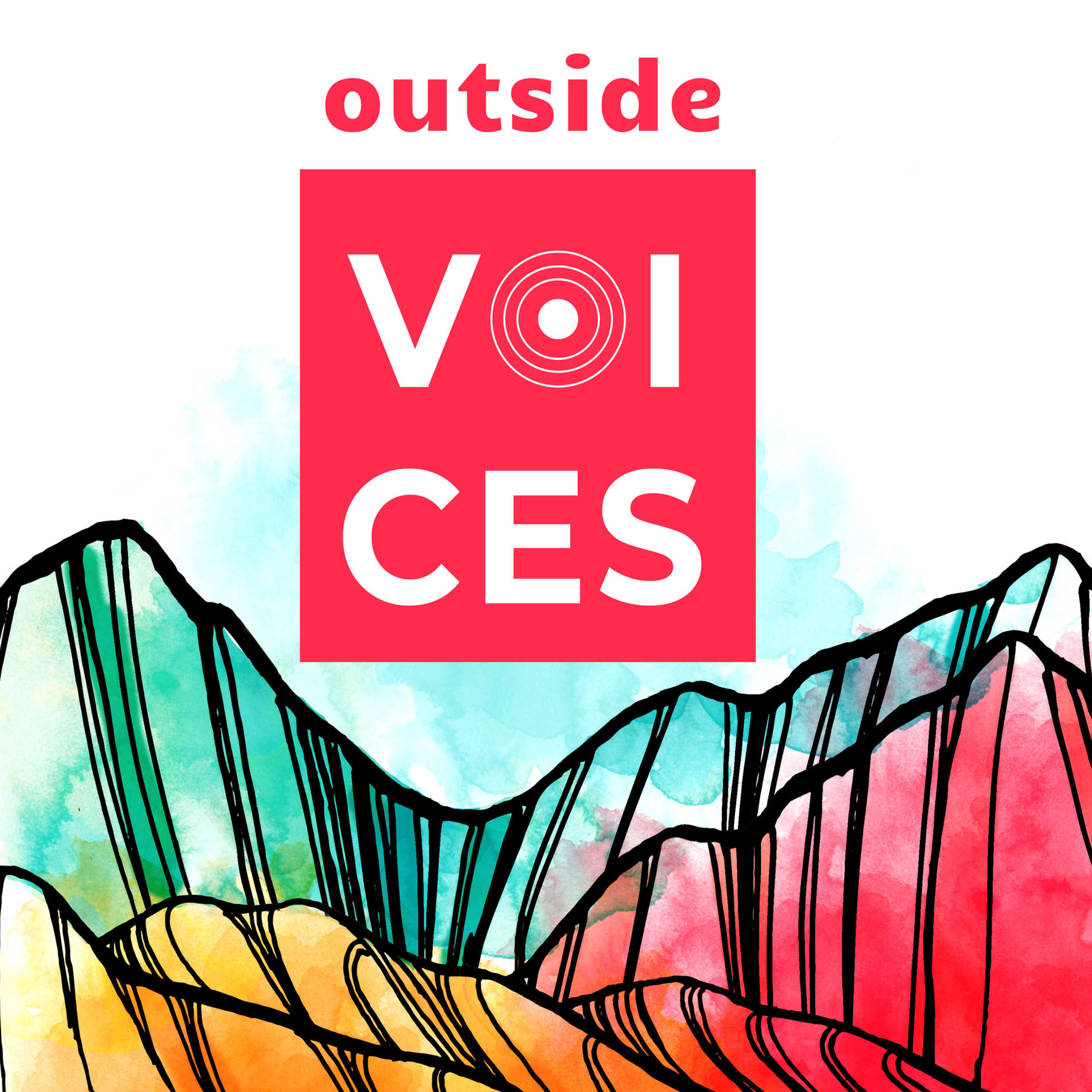 Artwork for Trailer: Welcome to Outside Voices Podcast