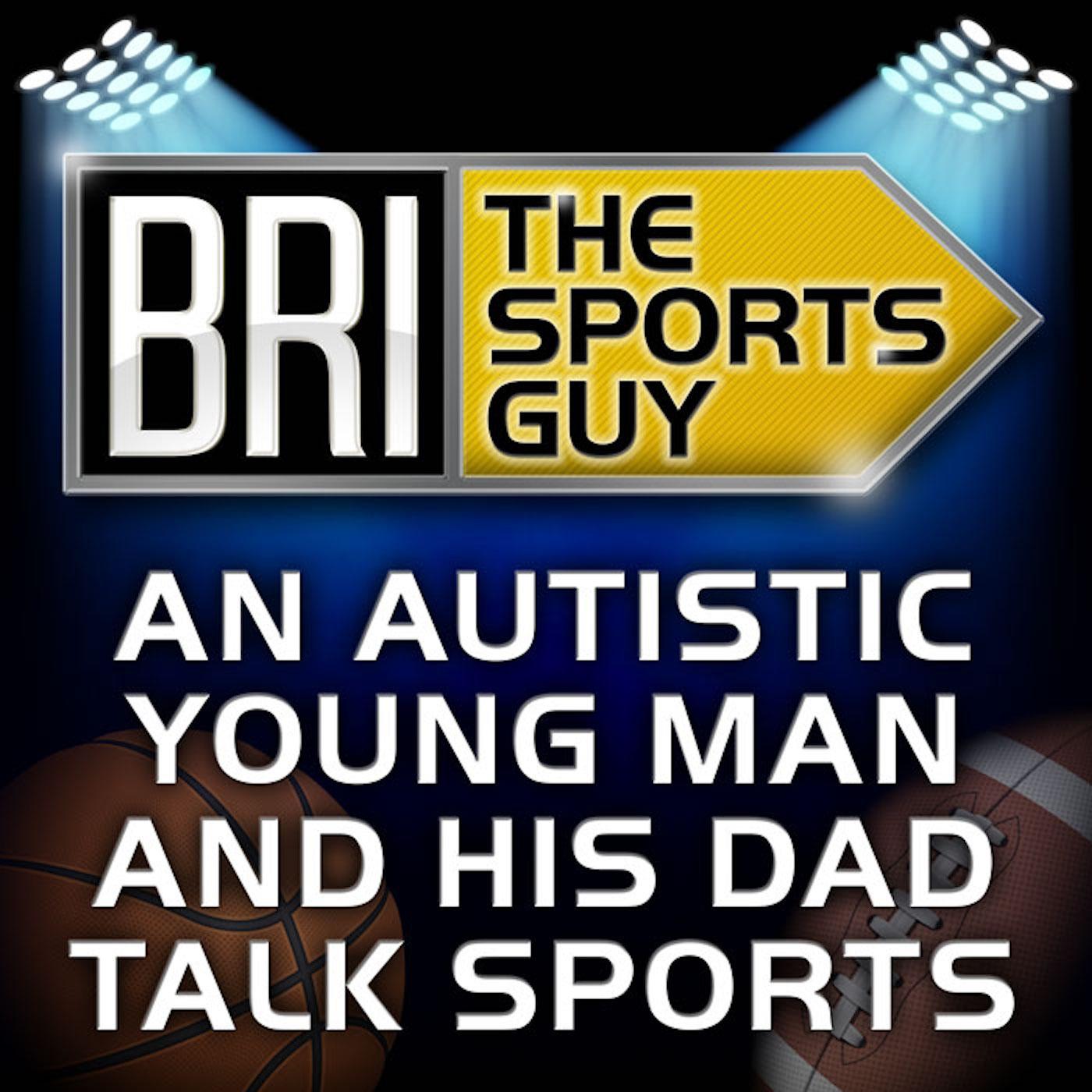 Bri The Sports Guy show art