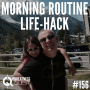Artwork for #156: MORNING ROUTINE LIFE-HACK - Daily Mentoring w/ Trevor Crane #greatnessquest