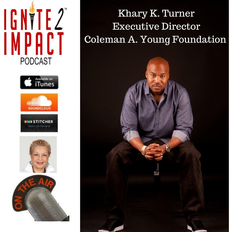 Khary Turner, Coleman A. Young Foundation
