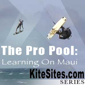 The Pro Pool: Learning to Kitesurf in Maui