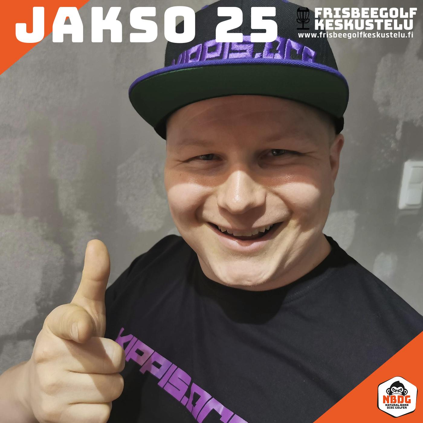 Frisbeegolfkeskustelu jakso #25 - vieraana Jere Pohjankoski