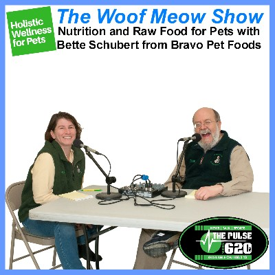 Holistic and Complementary Wellness for Pets - Nutrition and Raw Food for Pets with Bette Schubert from Bravo Pet Foods