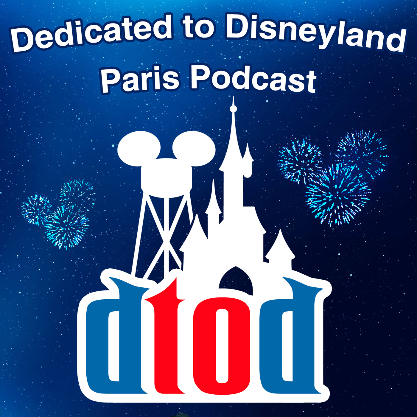 Dedicated to Disneyland Paris Podcast show art
