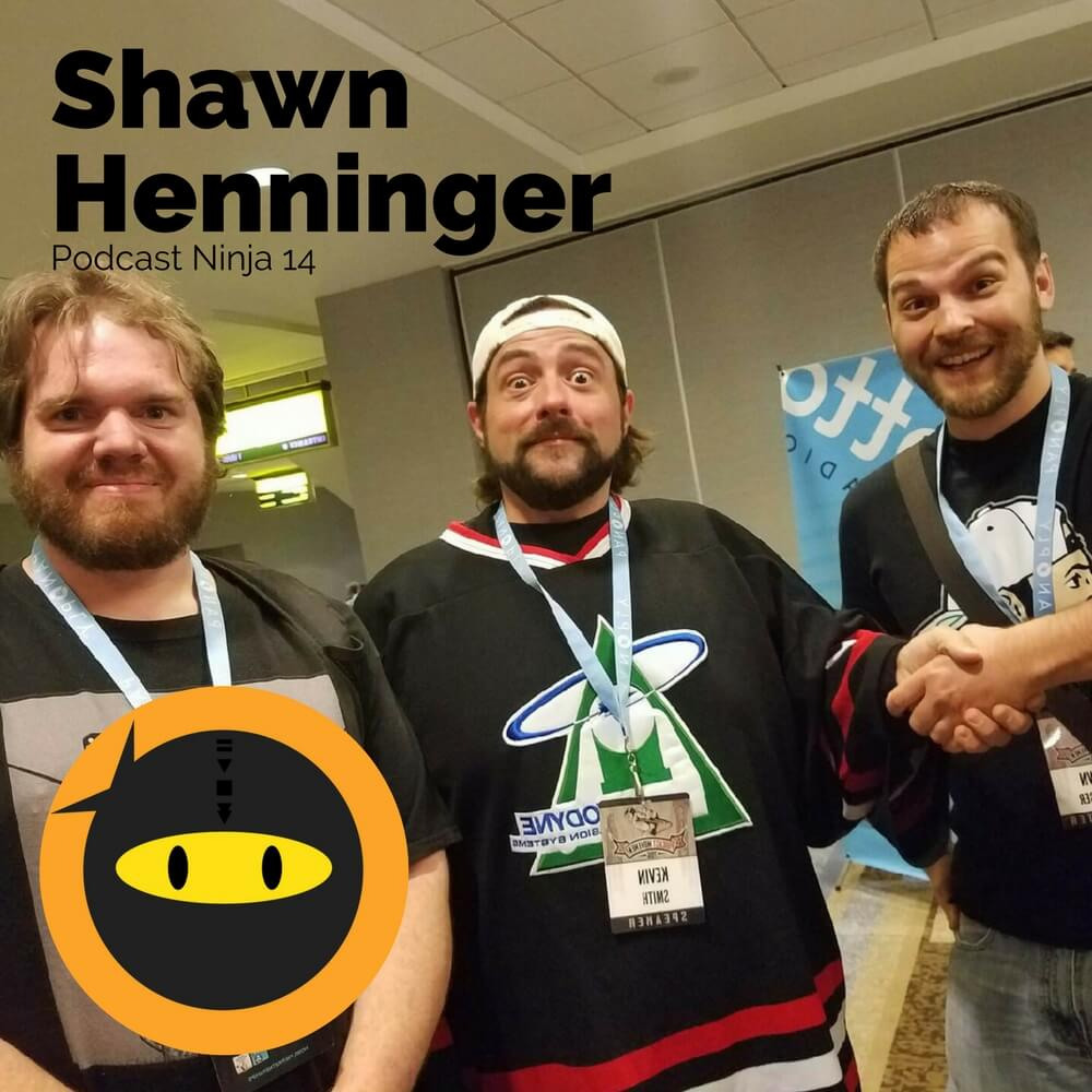 PN14: Shawn Henninger - Podcast Co-Host Tips, Bromance, and Stranger Things
