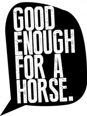 The Good Enough for a Horse Podcast