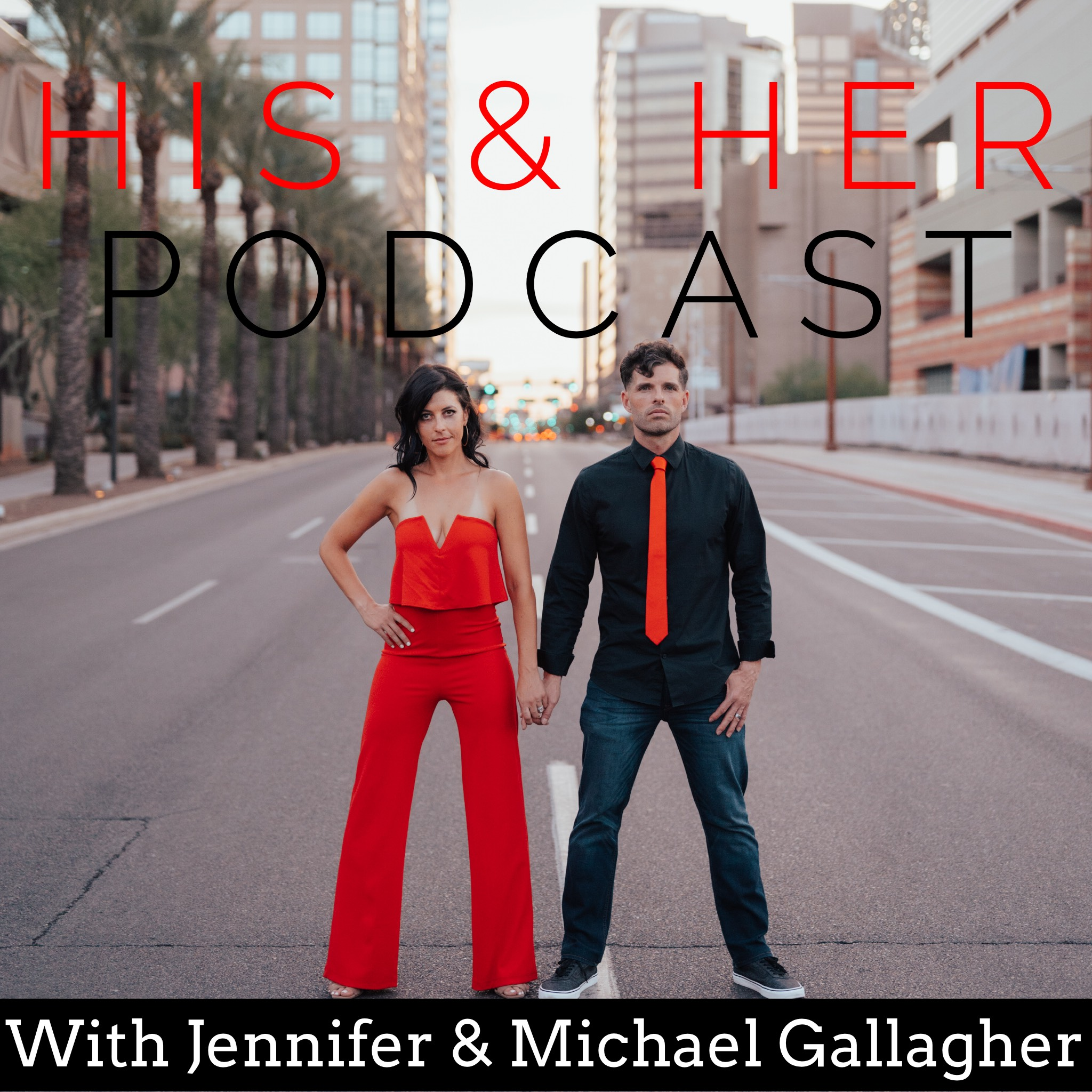 His & Her Podcast show art
