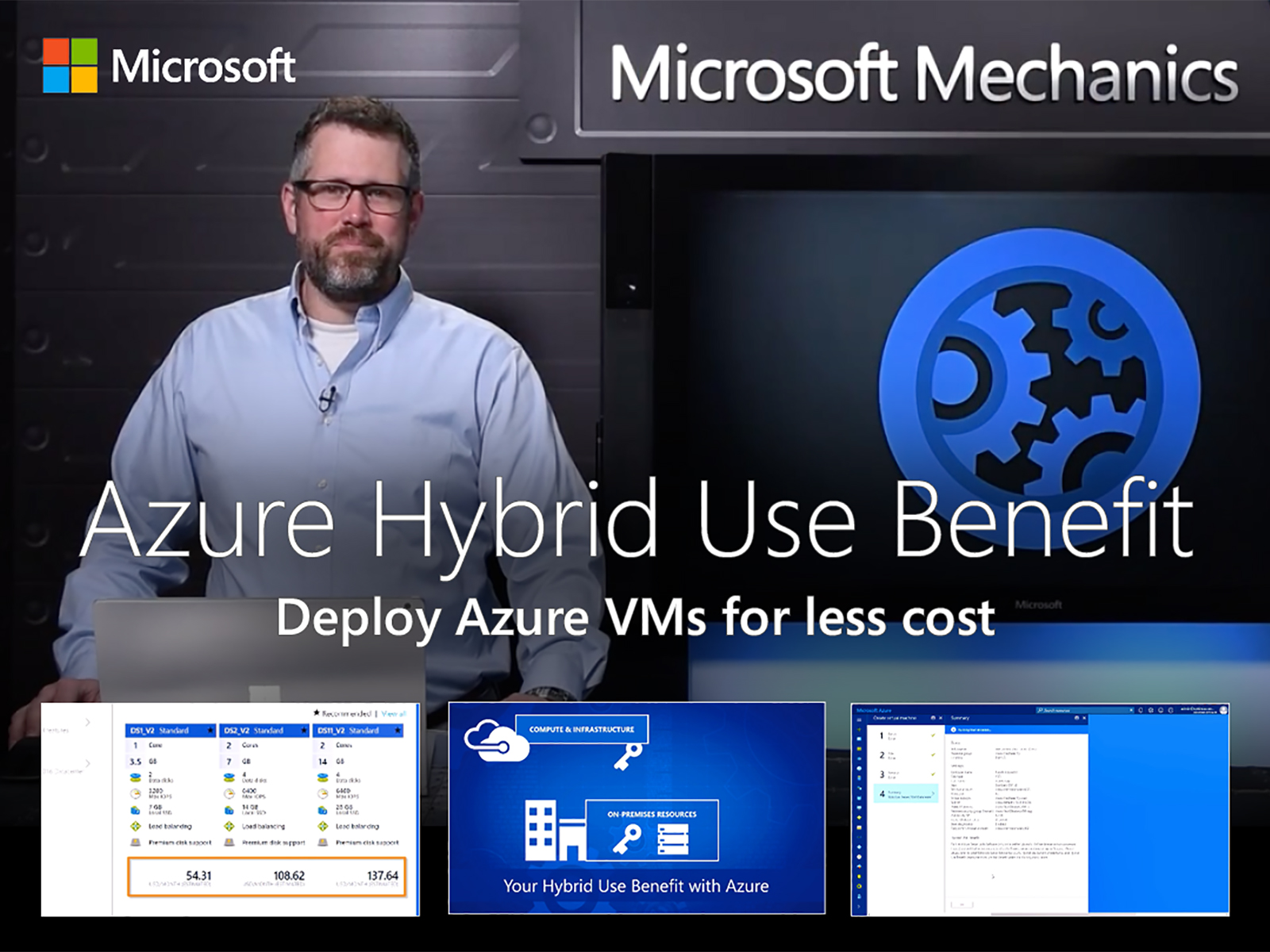 Artwork for How to deploy Azure VMs for less using the Azure Hybrid Use Benefit