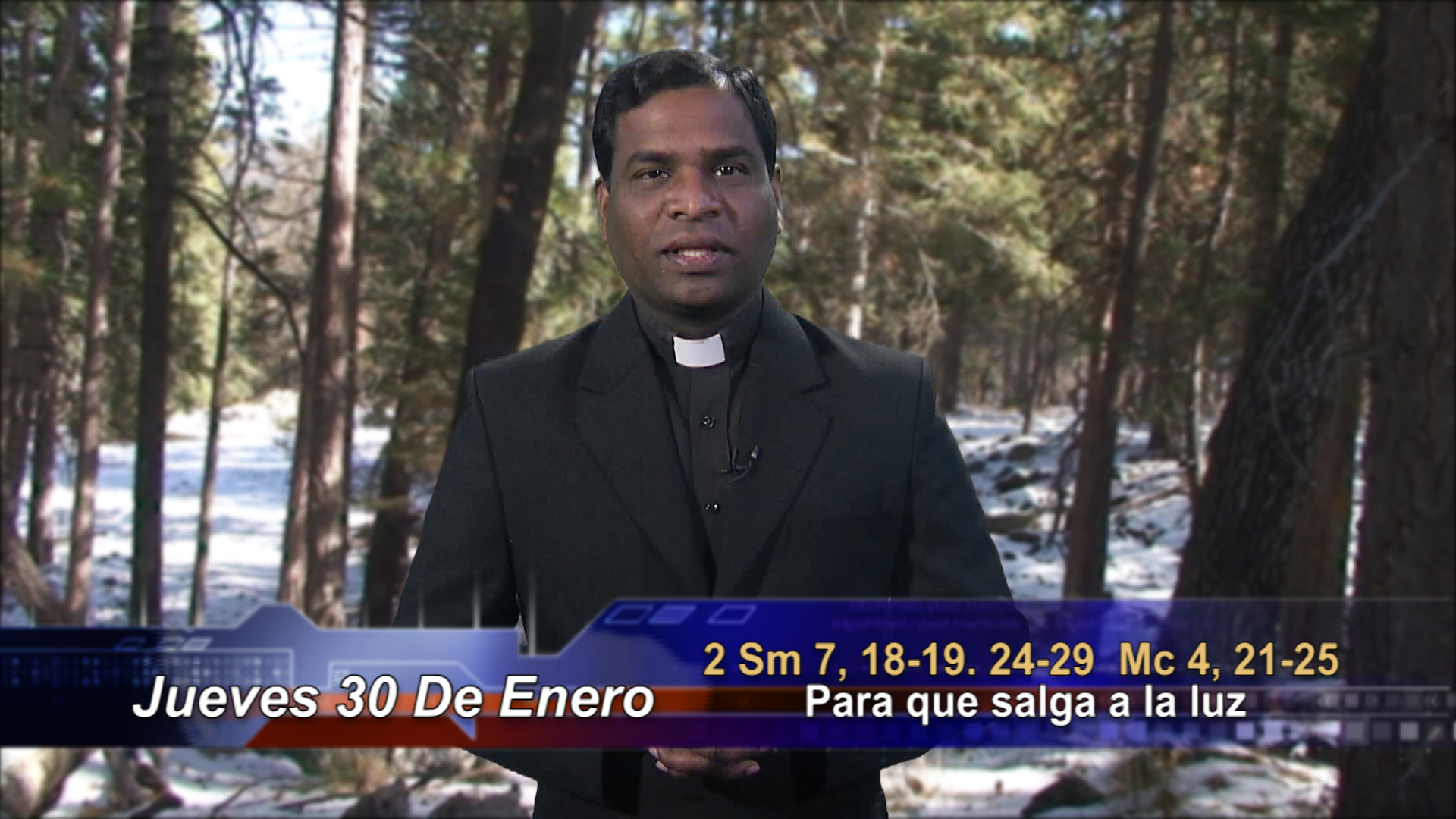 """Artwork for Dios te Habla con Fr. Deebar Yonas, SVD; Tema el hoy:  """"…para que salga a la luz"""""""