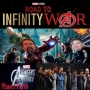 Artwork for Road To Infinity War... AVENGERS ASSEMBLE... Guest Host Iain Lowson