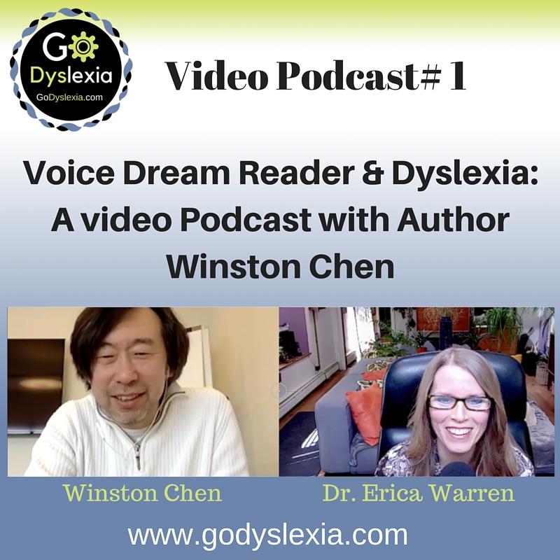 Go Dyslexia Episode 1: Dyslexia and Voice Dream Reader with Winston Chen