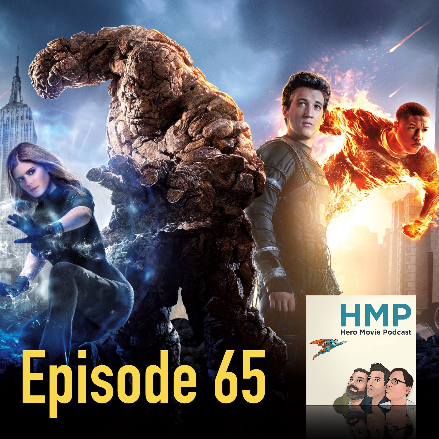 Episode 65- Fantastic Four (2015)