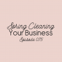 Artwork for Ep. 075: Spring Cleaning Your Business