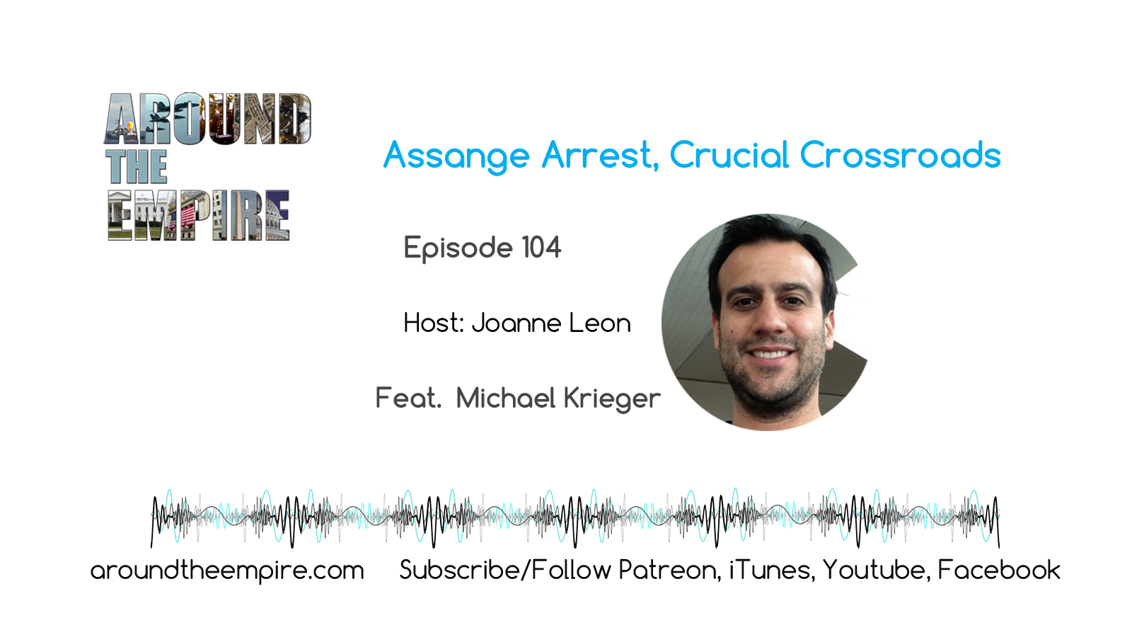 Ep104 Assange Arrest Crossroads
